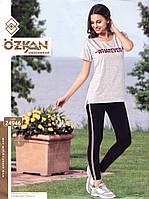 Комплект женский футболка с лосинами   OZKAN