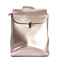 """Женский кожаный рюкзак сумка 4BAGS Нежно-розовый """"STELLA Light Pink"""" (11143)"""