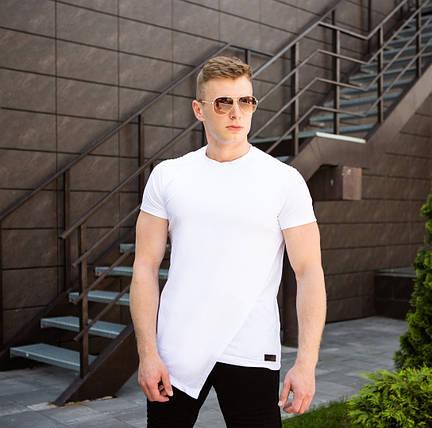 "Мужская футболка Pobedov ""Bruce Li"" White (S, M, L, XL размеры), фото 2"