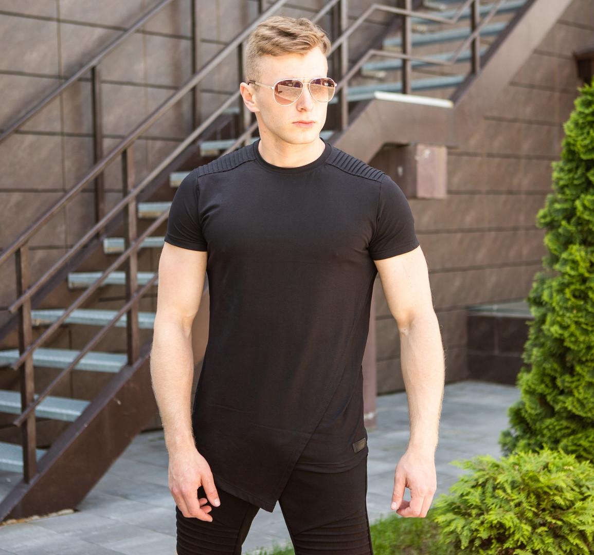 """Мужская футболка Pobedov """"Bruce Li"""" Black (M, L размеры)"""