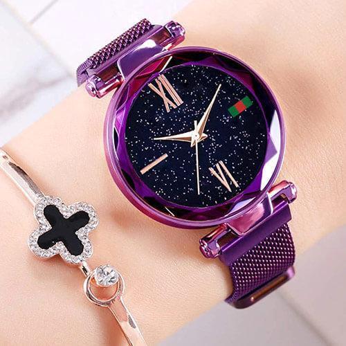 Женские часы Starry Sky Watch на магнитной застёжке! Стильные и красивые!