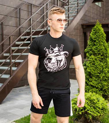 "Мужская футболка Pobedov ""Tsar"" Black, фото 2"