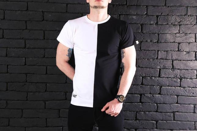 "Мужская футболка Pobedov ""Segmentation"" (S, M, L, XL, XXL размеры), фото 2"