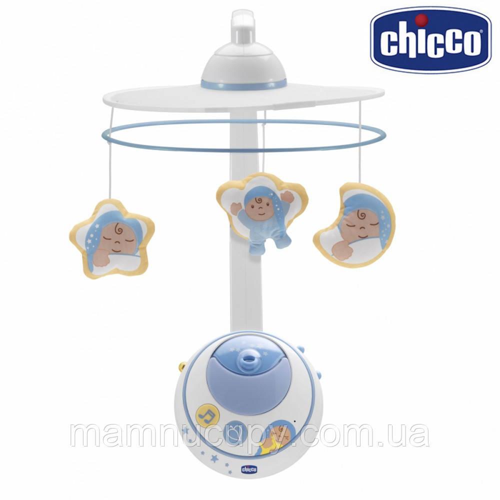 Мобиль Chicco - Волшебные звездочки (02429.20) голубой