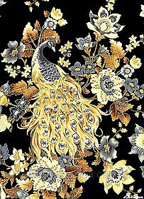 """Набор алмазной вышивки (мозаики) """"Золотой павлин"""""""