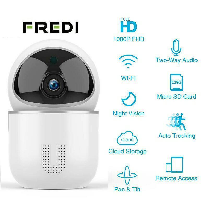 FREDI 1080P облачная охранная WiFi IP камера YCC365