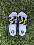 Мужские сланцы в стиле Nike Off-White (white), сланцы Найк, шлепанцы Найк, Тапочки найк (Реплика ААА), фото 3