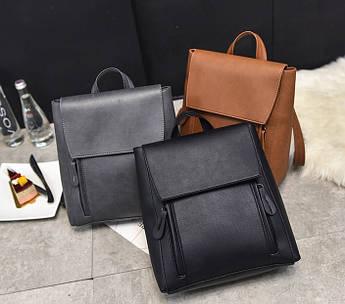Женская рюкзак-сумка модный рюкзак