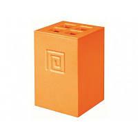 Стакан для ванной оранжевый MEANDER 02735, фото 1