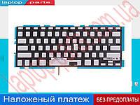 """Подсветка для клавиатуры ноутбука APPLE MacBook Pro A1278 2008 2009 2010 2011 13.3"""" rus black горизонтальный Enter type 2"""