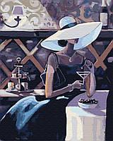 """Картина по номерам BrushMe """"Незнакомка с мартини"""" 40х50см GX29718"""