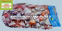 Коврик антискользящий для ванной на присосках Морские ракушки