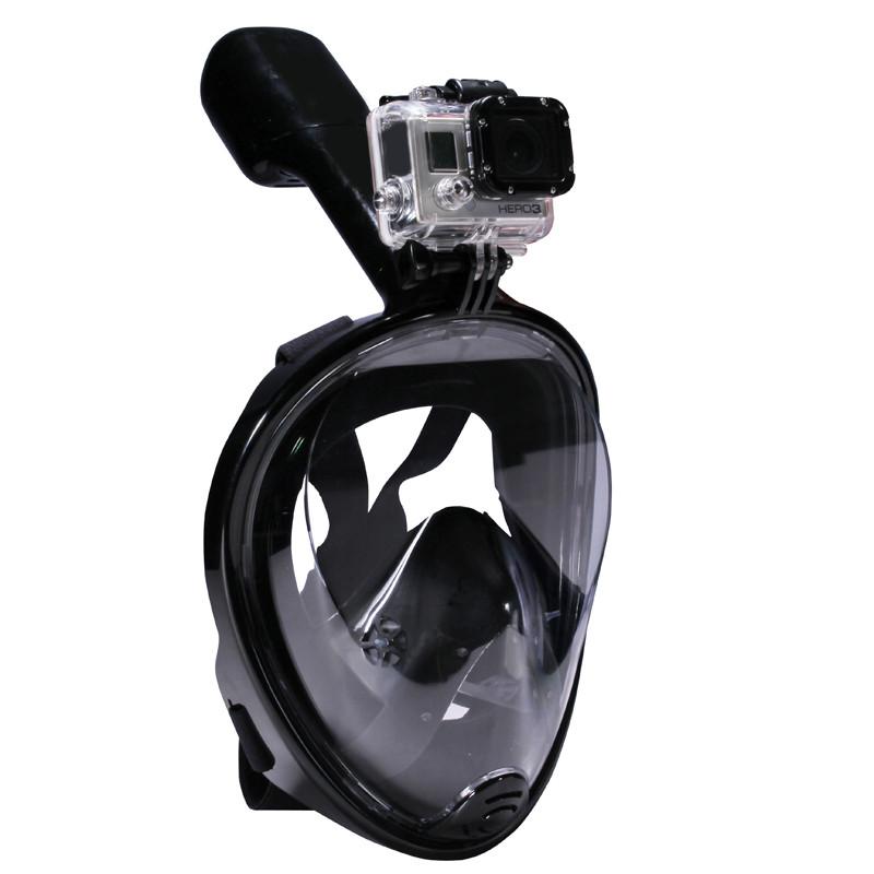 Подводная маска Черный L/XL