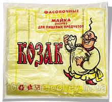 """Пакет-майка """"Козак"""" (22×36) 100 шт"""