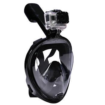 Підводний маска Чорний S/M