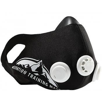 Тренировочная Силовая Маска дыхательная для бега и тренировок Elevation Training Mask 2.0 (размер M).