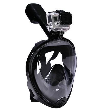 Подводная маска Черный S/M, фото 2