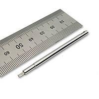 Насадка на викрутку під квинти D=2мм, квадрат