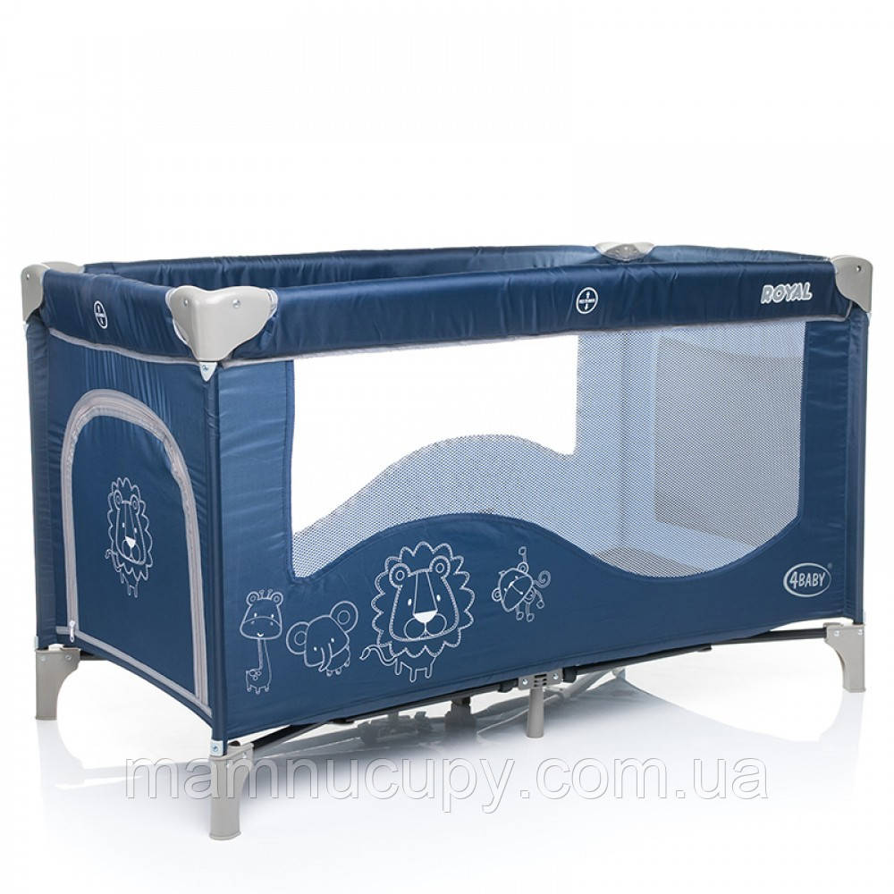 Манеж туристический 4baby (Royal) Blue