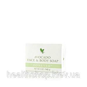 Косметическое мыло с авокадо для лица и тела