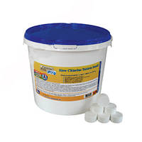 Медленный хлор Crystal pool (Slow Chlorine Tablets Small),  5 кг  2305