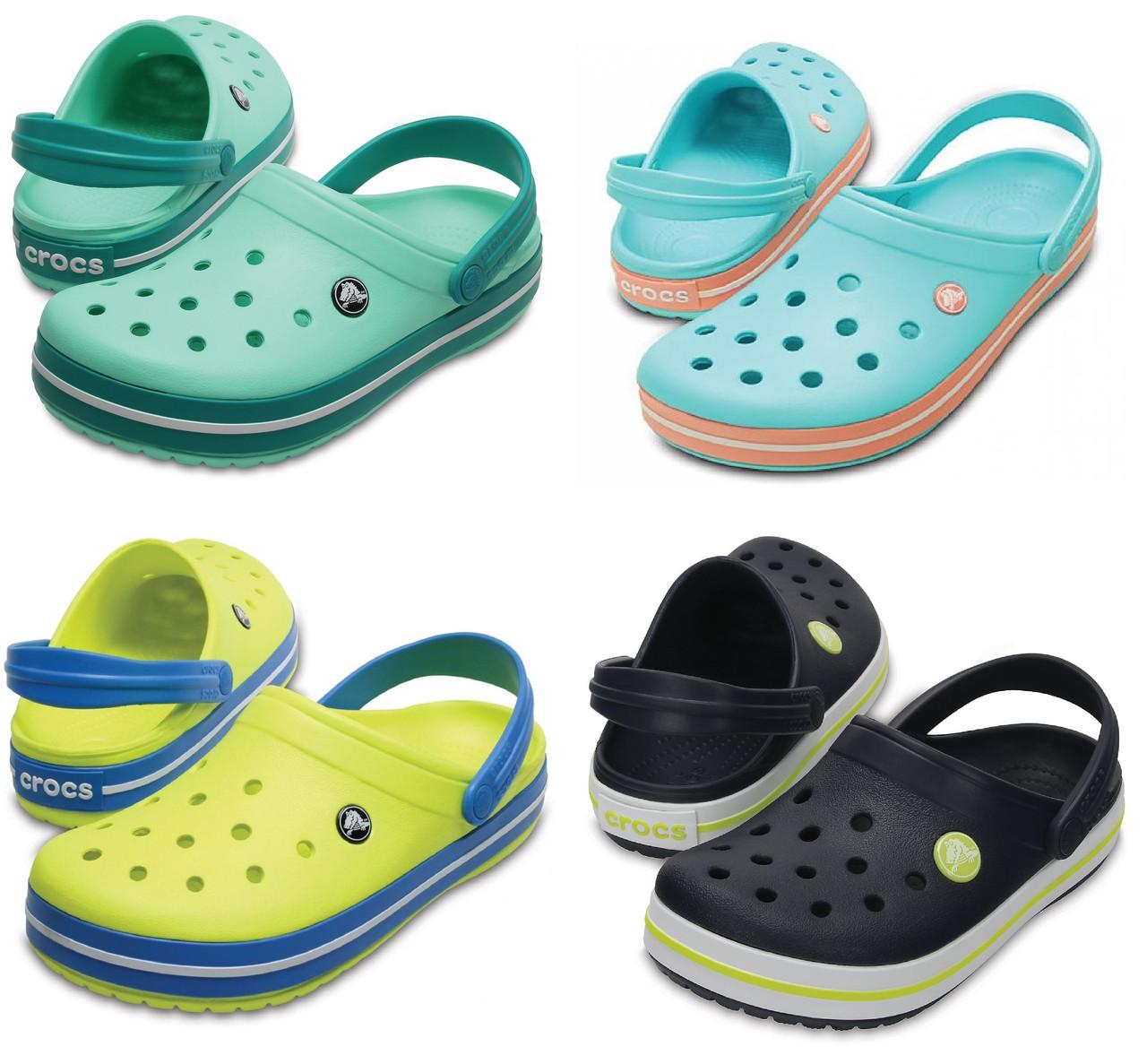 Кроксы мужские шлепанцы Крокбенд Сабо оригинал / Crocs Crocband Clog