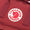 Рюкзак Kanken Fjallraven Classic 16л Бордовый - Реплика ААА Класса!, фото 9