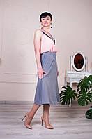 Универсальная женская юбка-трапеция