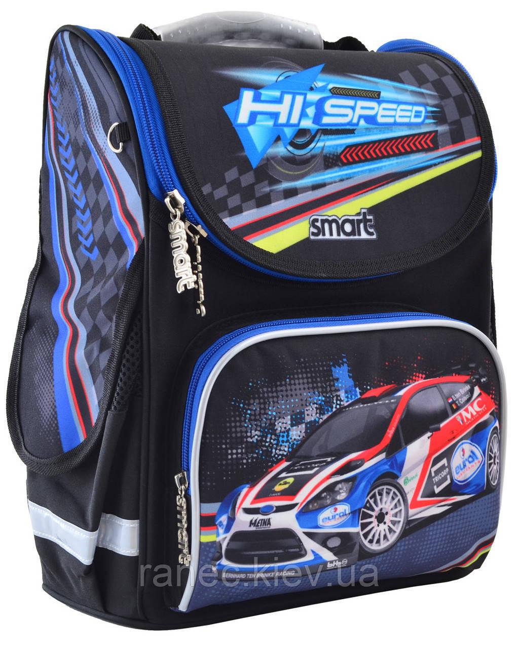 Рюкзак школьный каркасный 1 Вересня Smart PG-11 Hi Speed для мальчика 555979