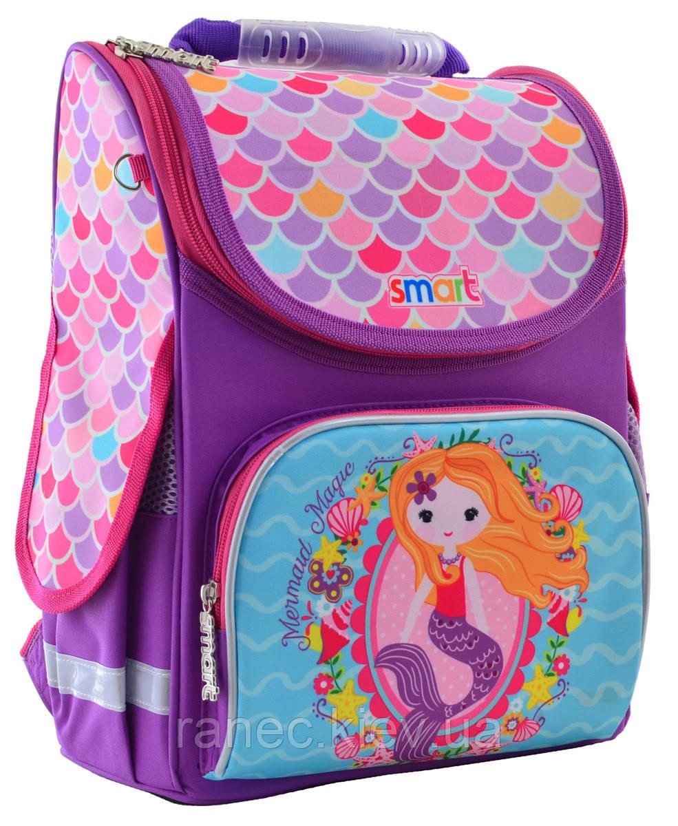 Рюкзак школьный каркасный 1 Вересня Smart PG-11 Mermaid для девочки 555934