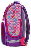 Рюкзак школьный каркасный 1 Вересня Smart PG-11 Mermaid для девочки 555934, фото 4