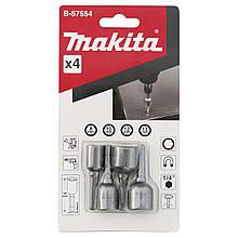 Набір магнітних насадок 4 шт. (8,10,12,13) Х48 Makita (B-57554)