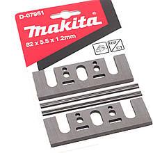 Набір стругальних міні ножів HM 82 мм Makita (4 шт.)