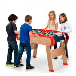 Деревянный полупрофессиональный футбольный стол Чемпион Smoby 620400