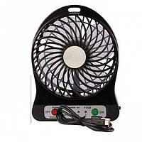 Портативный usb мини-вентилятор ( Черный)
