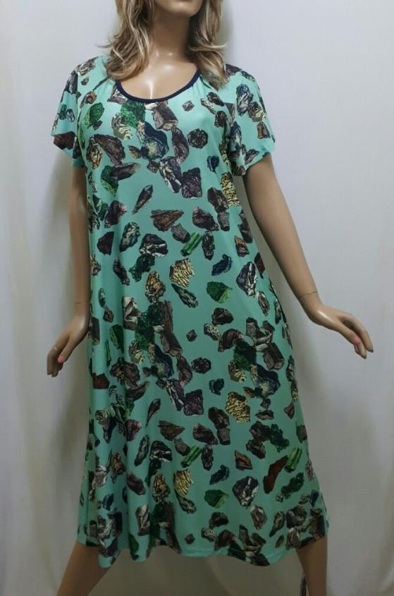 Платье большого размера с карманами из ткани микро-масло, от 50 до 62р-ра, Харьков