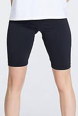 Велосипедки Женские спортивные шорты черные, фото 3