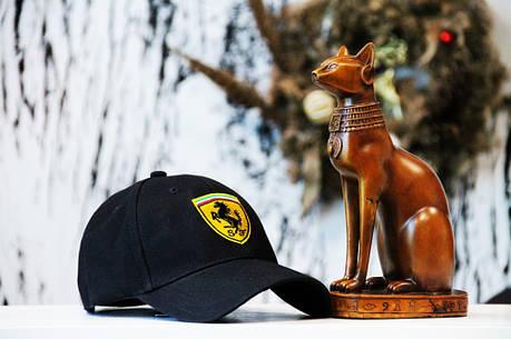 Кепка Ferrari black, фото 2