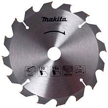 Пильний диск Makita ТСТ по дереву 185x30мм x 16 зубів (D-52582)