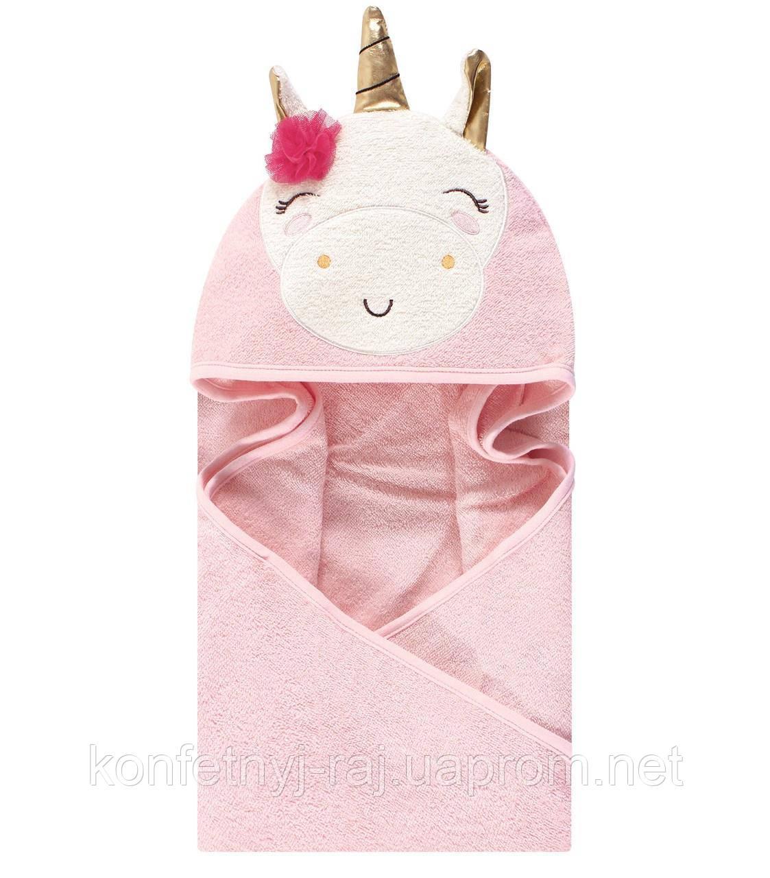 """Полотенце-конверт для деток """"Единорог""""и сказка о сказочном животном после ванны..."""