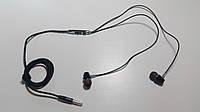 Наушники-гарнитура внутриканальные (вакуумные) SHANG ZHI XUAN SXZ SD08, регулятор громкости,Black, фото 1