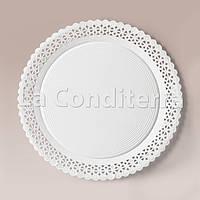 Тарелки ажурные Salaet ARIES, круглые d=30 см, фото 1