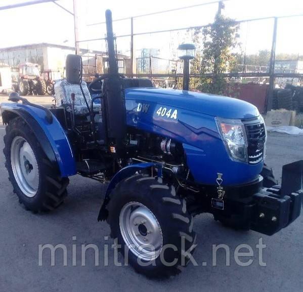 Трактор DW404АD, (40 л.с., 4х4, 4 цил., ГУР, 2-е сц., розетка)