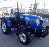 Трактор DW404АD, (40 л.с., 4х4, 4 цил., ГУР, 2-е сц., розетка), фото 1