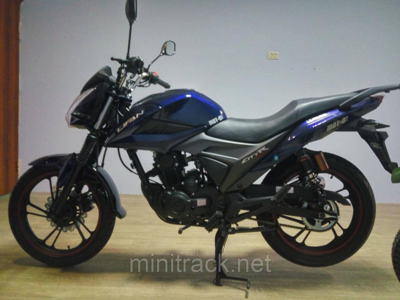 Мотоцикл Lifan 200 CiTyR, 175 см³