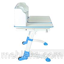 Парта регулируемая по высоте и наклону FunDesk Amare II Blue, фото 3