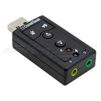 Адаптер Звуковая карта USB 3D Sound 7.1
