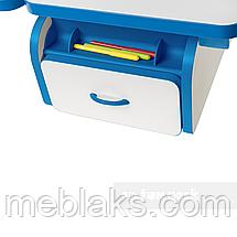 Комплект парта Creare Blue с надстройкой + детское ортопедическое кресло SST2 Blue FunDesk, фото 3