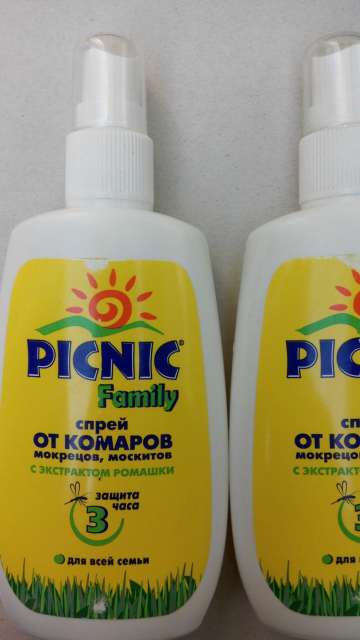 """Picnic"" family-спрей от комаров"