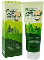 Elizavecca Milky Piggy Greentea Salt Body Scrub/ Скраб для тела с экстрактом зеленого чая 300 грам